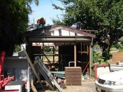 プレハブ小屋、物置、カーポートの解体工事